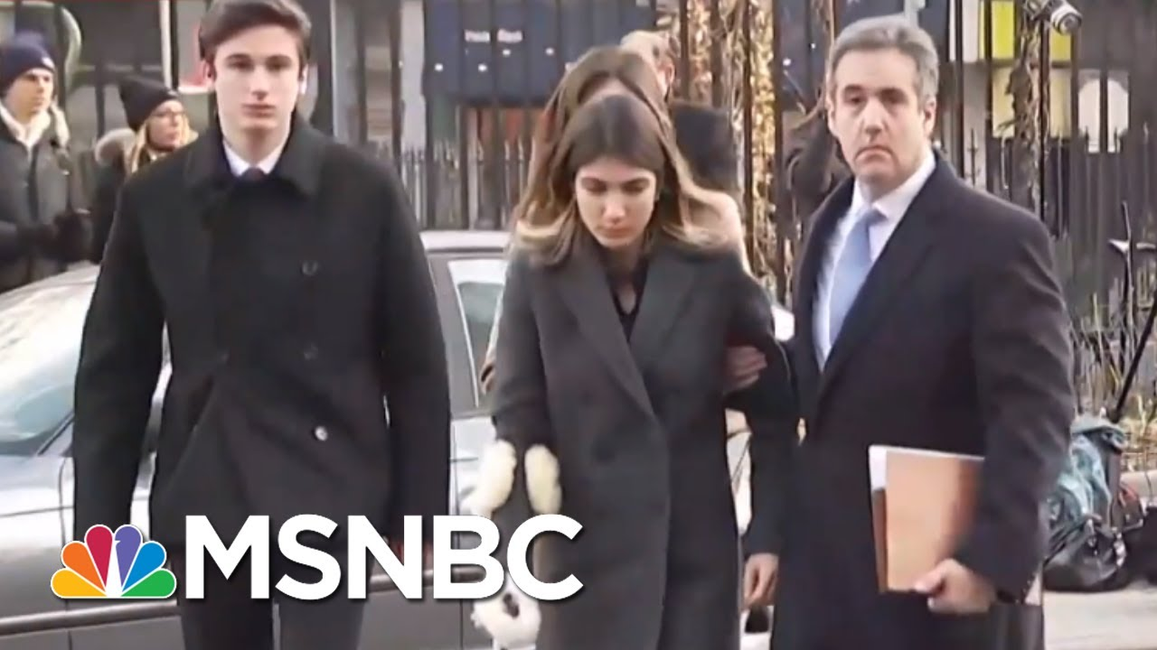 Davis: 'I Don't Know' If Michael Cohen Made More Tapes Of Donald Trump | Hallie Jackson | MSNBC