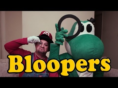 BLOOPERS: SUPER BRITISH MARIO BROS!