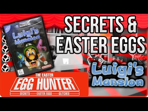 Luigi's Mansion Secrets and References - The Easter Egg Hunter