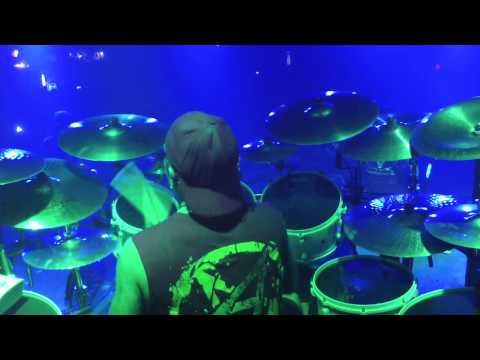 """ANTHRAX w/Jason Bittner on drums """"IN MY WORLD"""" Hartford, CT 10/4/12"""