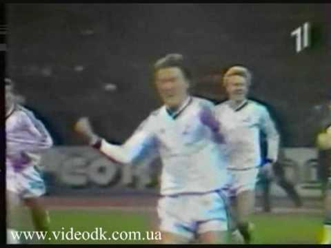 Динамо Киев - Селтик 1986