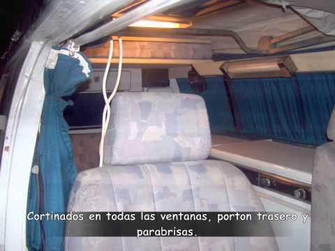 Motorhome Camper Volkswagen Combi Tipo Westfalia