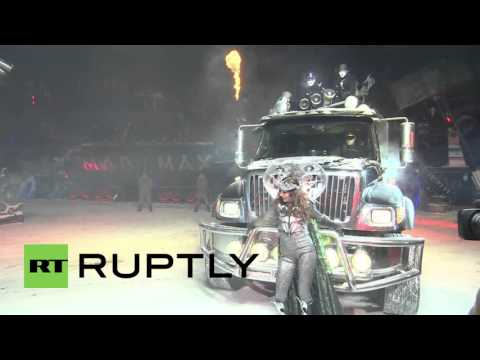 Russia: Night Wolves wow Moscow with dazzling New Year show
