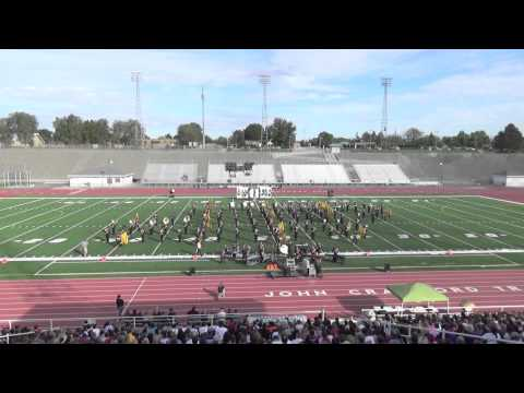 2014 Mt. Spokane High School Marching Band - Cavalcade of Bands Prelims