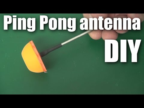 Ping Pong 5.8ghz Fpv Antenna Protection video