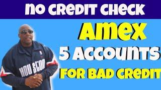Download lagu American Express Accounts! Top 5 Amex Accounts For Bad Credit No Credit Check(or No Credit Score).