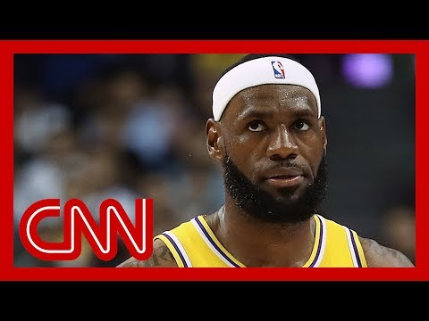 Lebron James under fire for criticizing Rockets GM