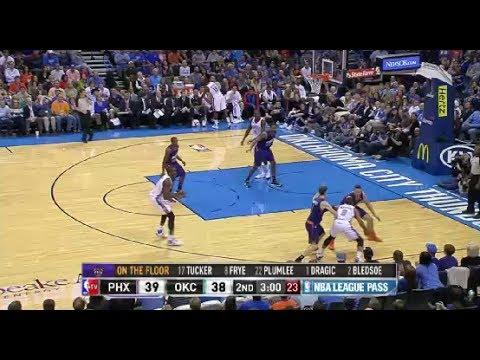 NBA Phoenix Suns vs Oklahoma City Thunder Game Highlights November 3 2013