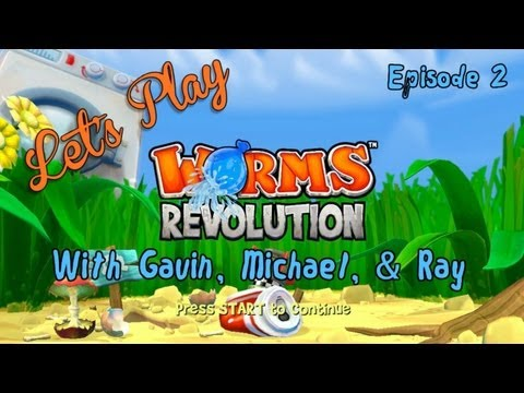 Let's Play - Worms Revolution: Episode 2