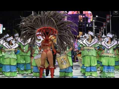 Comparsa Bella Samba - Show batería Eterna Guerrera -  Carnaval de Concordia Argentina 2017
