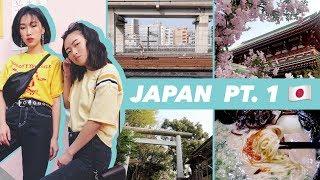 Sleepless in Tokyo | Japan Vlog Part 1