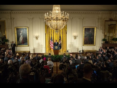 The President Holds a Press Conference After the Midterm Elections