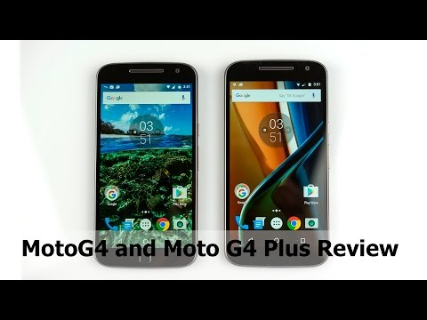 Moto G4 and Moto G4 Plus Review
