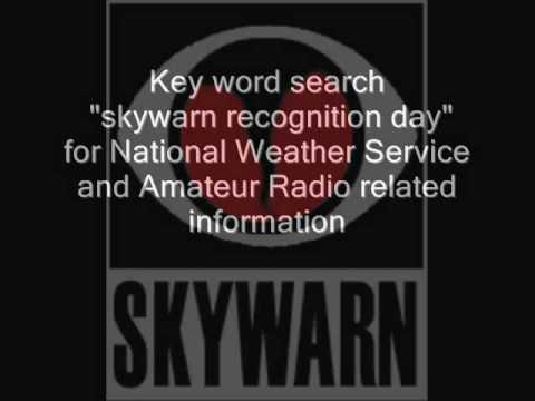 skywarn recognition day
