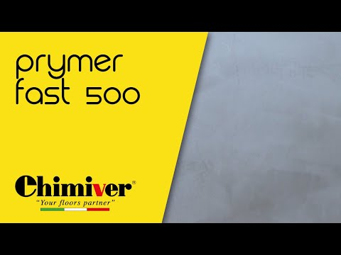 CHIMIVER - PRYMER FAST 500 Primer inodore a rapidissima essiccazione / Fast drying odorless primer