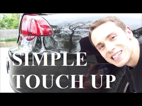 How to apply touch up paint youtube for How to do touch up paint on car