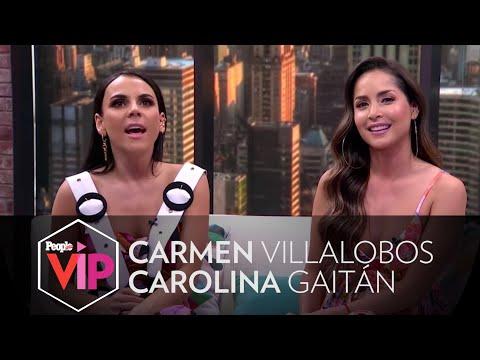 Carmen Villalobos y Carolina Gaitán revelan detalles de 'Sin Senos Sí Hay Paraíso' | PeopleVIP
