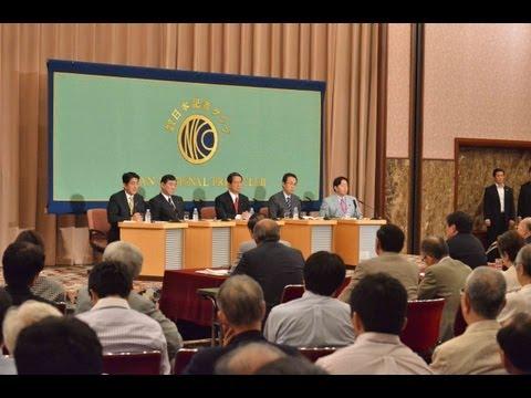 自民党総裁選立候補者討論会 第二部 2012.9.15