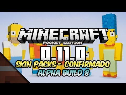 Noticias Minecraft PE 0.11 Build 8 | Skin Packs Confirmado | Johan