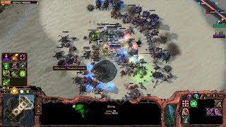 Starcraft 2 - Arcade - Direct Strike - 3vs3 - Zerg - #76