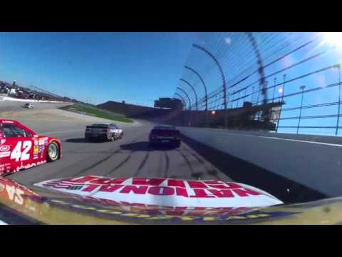 Dale Earnhardt Jr. 2014 MyAfibStory,com 400 onboard last half from Chicagoland Speedway
