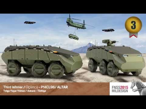 FNSS announced winners of the International Military Land Vehicles Design Competition 2015