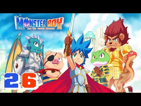 Monster Boy and the Cursed Kingdom 🐸 #26 [Ich bin aus Eis] Lets Play I Zeldajunge