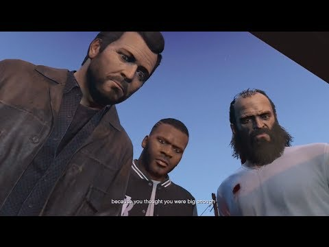 GTA V Walkthrough Part 70- To Live or Die in Los Santos (GTA V End Game)