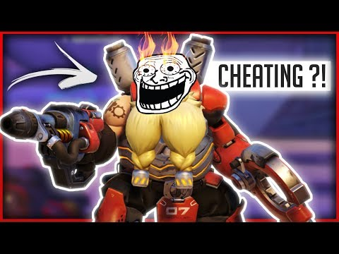 IS FLOW3R HACKING IN THE OVERWATCH WORLD CUP?!- OVERWATCH WTF FUNNY MOMENTS MONTAGE!