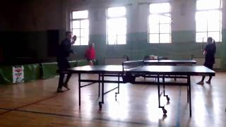 Amazing Table Tennis Shot