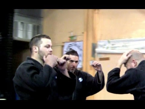 Ninjutsu against multiple attackers - Yossi Sheriff, AKBAN Academy Image 1