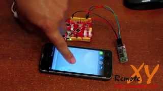 Управляем Arduino c Android смартфона по Bluetooth. Первый проект.