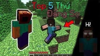 Top 5 Thứ Đáng Sợ Đã Biến Mất Một Cách Kỳ Lạ Trong Minecraft!