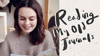 Reading My Old Journals | AD #EndPeriodPoverty | Lucy Moon