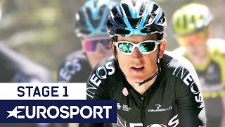 Tour de Romandie 2019 | Stage 1 Highlights | Cycling | Eurosport