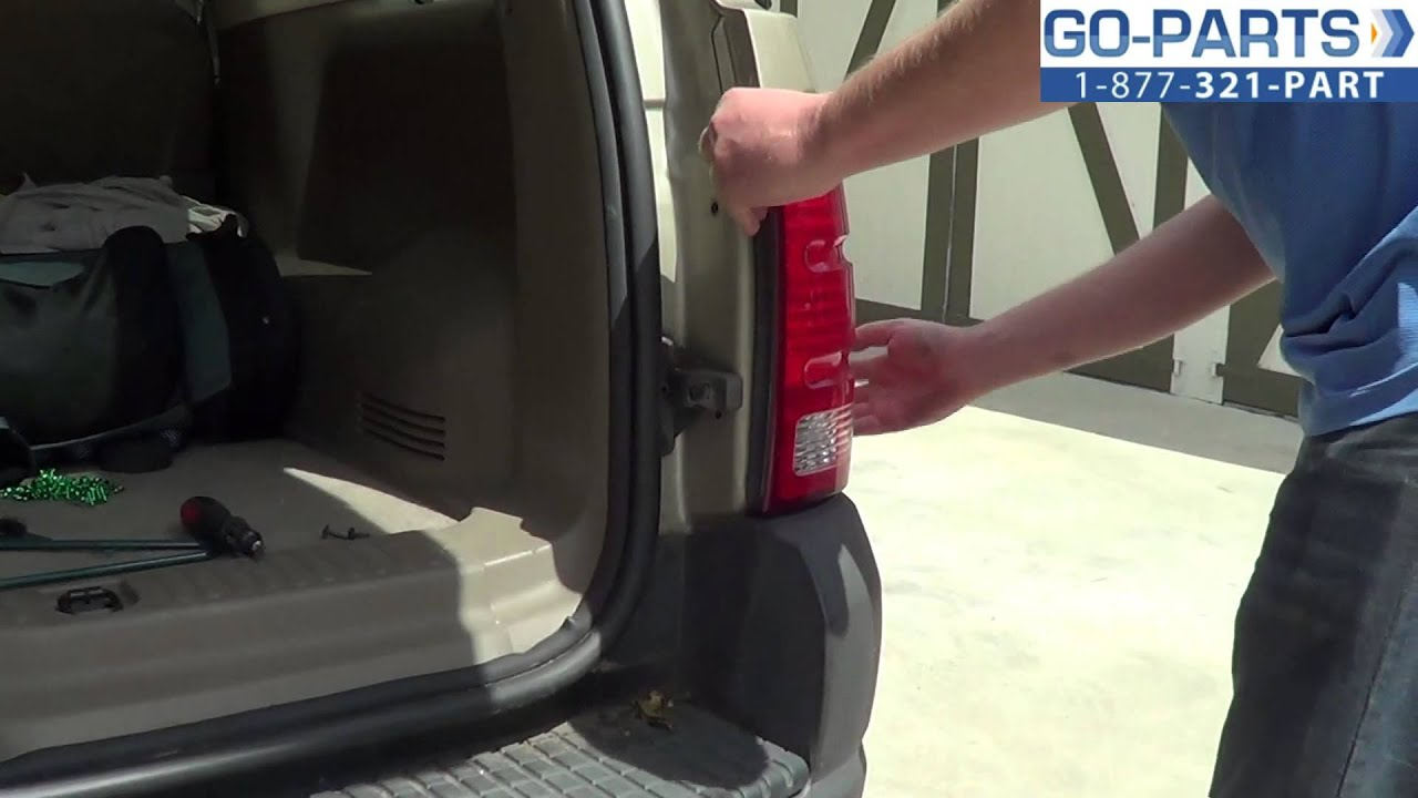 Replace 2001 2005 Ford Explorer Tail Light Bulb How To