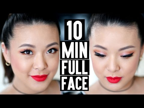 TUTORIAL | 10 Min FULL COVERAGE Date Night Makeup!