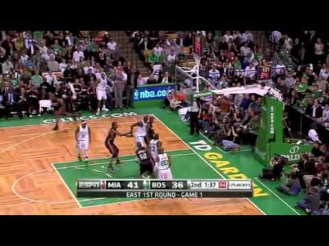 Heat - Celtics I 2010 Playoffs Game 1 (04.17.10) Video