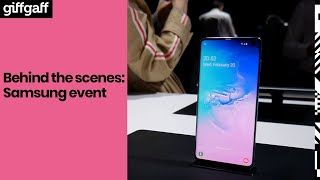 Behind the scenes: Samsung Fold and S10 unpacked event