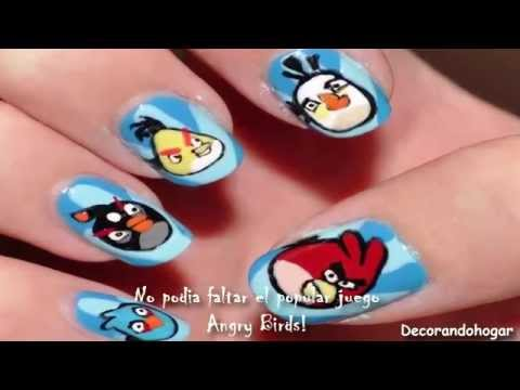 Decoración uñas con dibujos animados | Diseños para decorar uñas ...