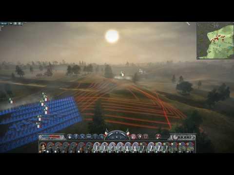 Napoleon Total War Battle of Waterloo Part 1
