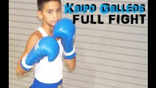 #1 Ranked Amateur Boxer *Kaipo Galleos* FULL FIGHT !