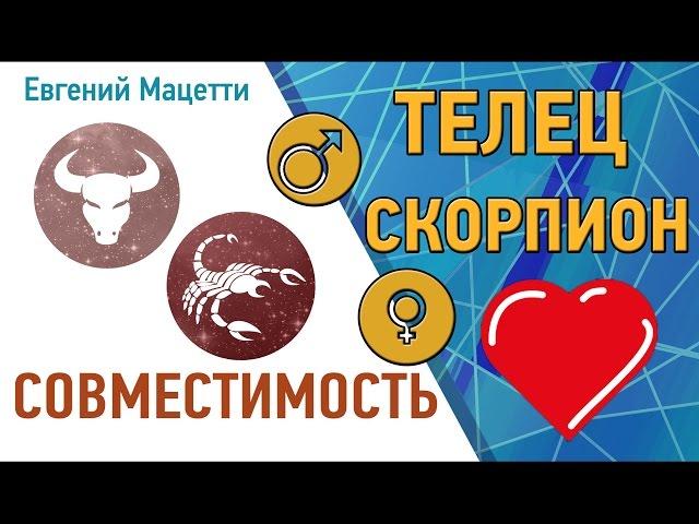 Любовный гороскоп телец женщи  и рак мужчи