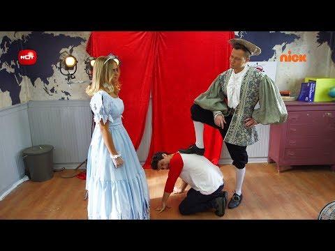 המלאך השומר שלי: הרגעים הגדולים - יניב מנסה לעזור לרועי בחזרות למחזה - ניקלודיאון