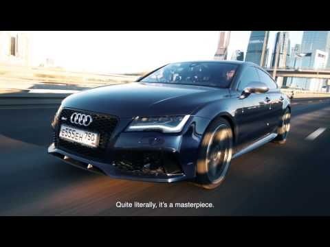 DT Test Drive — Audi RS7 stock