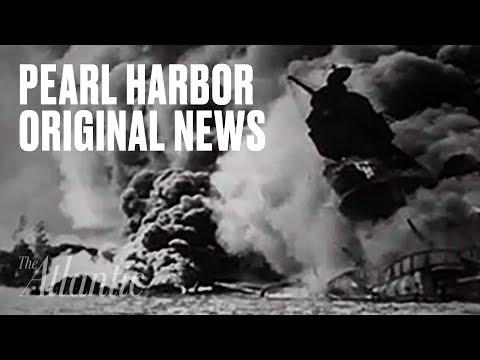 Original Pearl Harbor News Footage
