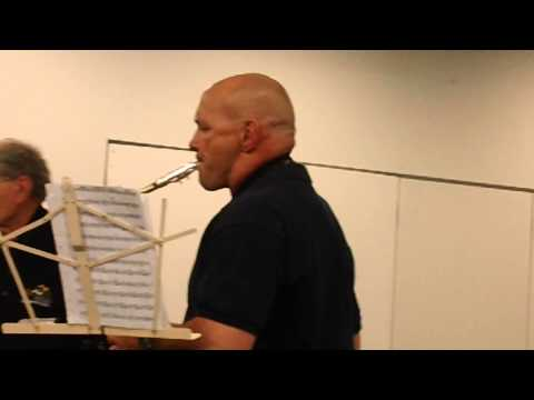 Mile High Community Band plays at Red Rocks Community College in Golden, CO on 6-19-2014