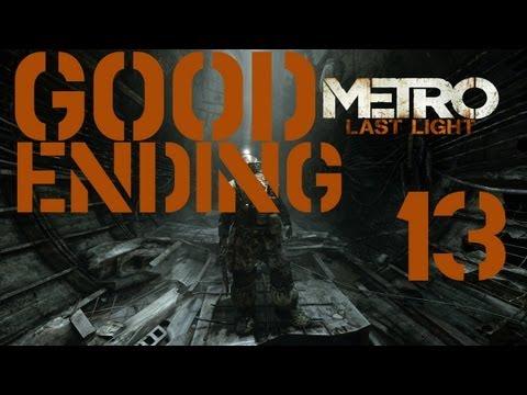 Как сделать хорошую концовку метро ласт лайт
