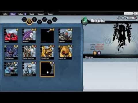 Mutants: Genetic Gladiators. Combinaciones parte 1 + DARKSEER . Jugando con Damty parte 8