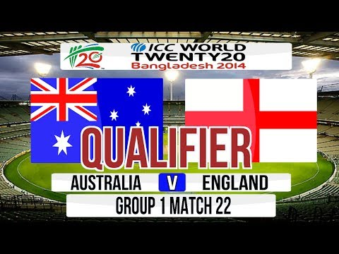 ICC T20 World Cup 2014 Super 8 (Qualifier match) - Australia v England Group 1 Match 22